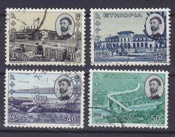 Ethiopia 1965 Mi. 505, 509, 511-12    10c., 35c., 40c., 50c. Fortschritt - Äthiopien