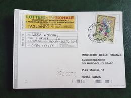 (41078) STORIA POSTALE  ITALIA 1996 - 6. 1946-.. Repubblica
