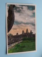 CAMBODGE - Le Temple De Angkor-Vat ( 165 P-C ) Anno 195? ( Zie Foto Details ) ! - Cambodge