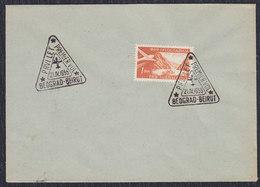 Yugoslavia 1955 First Flight From Beograd To Beirut, Cover With Commemorative Postmark - 1945-1992 Sozialistische Föderative Republik Jugoslawien