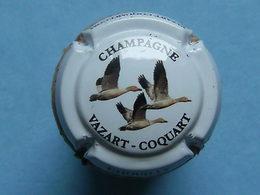Capsule Champagne - Vazart-Coquart Chouilly - Trois Canards (blanc&noir) - Autres
