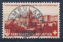 """HELVETIA - Mi Nr 421 - Cachet """"AMBULANT"""" - (ref. 1428) - Suisse"""