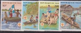 NIGER - 1982, BOY SCOUT  Set MNH - Nuovi