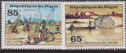 NIGER - 1982 Fishing Set MNH - Professioni
