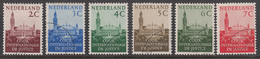 The Netherlands Used NVPH Nr D27/32 From 1951 / Catw 5.20 EUR - Dienstpost