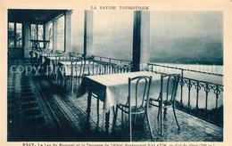 13486740 Le_Bourget-du-Lac_Savoie Hotel Restaurant Palatin Terrasse Au Col Du Ch - Le Bourget Du Lac