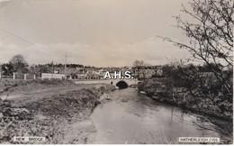 Devon: New Bridge. Heatherleigh.Real Photo Postcard. - England