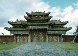 1 AK Mongolei Mongolia * Der Palast Des Bogd Khan In Ulaanbaatar Hauptstadt Der Mongolei * - Mongolei