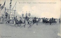 Senegal - SAINT LOUIS - Courses à L'hippodrome De La Société à Leybar - Ed. Tacher 366. - Senegal
