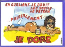 Carte Postale Humour Sexy Par Alexandre  Illustrateur  Très Beau Plan - Alexandre