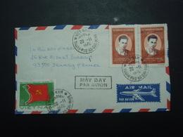 Enveloppe Timbrée Viet-Nam Thanh-Pho-Ho-Chi-Minh 1970 - Viêt-Nam
