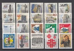 (05) Berlin 1965-1969 - 20 Unbenutzte Briefmarken ** MNH - Michel-Nr. Siehe Beschreibung - Berlin (West)
