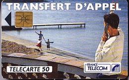 FRANCE TELECOM 50 Unités  Transfert D'Appel  De 06 1992    Tirage De 1 000 000 D'exemplaires - Telecom Operators