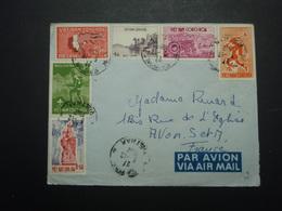 Enveloppe Timbrée Viet-Nam CONG-HOA 1962 - Vietnam