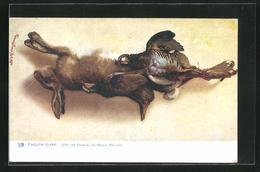 AK Jagdstillleben, Hase Und Wildvögel - Hunting