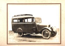 Roquefort (Landes 40). Poste Automobile Rurale. Photo Originale Tastet. RARE. - Photographs
