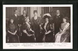 AK The Royal Gathering At Windsor 1907, Queen Of Portugal, King Edward & Queen Of Norway - Familles Royales