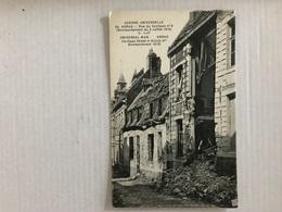ARRAS 8 Rue Du Coclipas Bombardement Du 5 Juillet 1915 - Arras