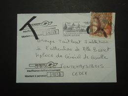 Enveloppe  Timbrée Taxe - Postmark Collection (Covers)