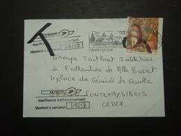 Enveloppe  Timbrée Taxe - Marcophilie (Lettres)