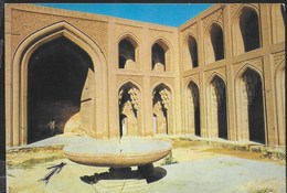 IRAQ - BAGDAD - PALAZZO DEGLI ABBASSIDI - VIAGGIATA FRANCOBOLLO ASPORTATO - Iraq