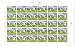 OCB 2150 Postfris Zonder Scharnier ** Volledig Vel ( Plaat  1 ) Lager Dan Postprijs - Feuilles Complètes