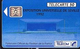 FRANCE TELECOM 50unités  Exposition Universelle De Séville 06 1992     2K Exemplaires - Telecom Operators
