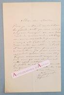 L.A.S Gustave JACQUET Peintre & Illustrateur élève De William Bouguereau - Peduzzi- Cabanel - Lettre Autographe LAS - Autographes