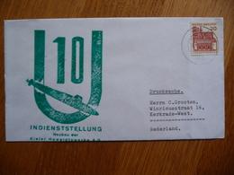 (zw) Schiffpost Shipmail INDIENSTELLUNG KIELER HOWALDTSWERKE 1968 DEUTSCHE BUNDESPOST. - Schiffe