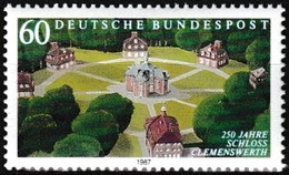 Timbre-poste Gommé Neuf** - 250e Anniversaire Du Château De Clemenswerth - N° 1144 (Yvert) - Allemagne Fédérale 1987 - [7] Federal Republic