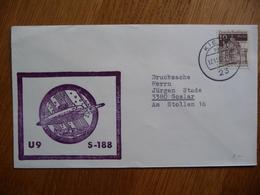(zw) Schiffpost Shipmail U9 S-188 . 1968 DEUTSCHE BUNDESPOST. - Boten
