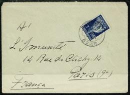 Ref 1300 - 1$60 Ceres Cover - Ovar Portugal To Paris France - 1910-... Republic