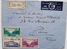 Timbres 1949 Sur Enveloppe - Timbres