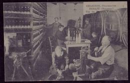 """Renazé. Mise En Bouteilles Du Vin Du Docteur Clément Par Le Pharmacien Chaignon. Vin """"guérisseur"""". - Other Municipalities"""