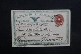 MEXIQUE - Entier Postal Pour L 'Allemagne En 1894 - L 31508 - Messico