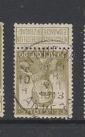 COB 112 Oblitération Centrale ANTWERPEN 10H - 1912 Pellens