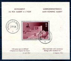 Belgique           Bloc 8 Oblitéré Premier Jour - Blocs 1924-1960