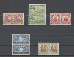 SAMOA.  YT  N° 149/158  Neuf **  1952 - American Samoa