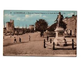La Rochelle Statue De L'Amiral Duperré Et Le Cours Des Dames - La Rochelle