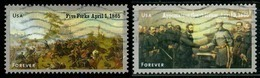 Etats-Unis / United States (Scott No.4980-81 - CIVIL WAR SESQUICENTENNIAL) (o) - Used Stamps