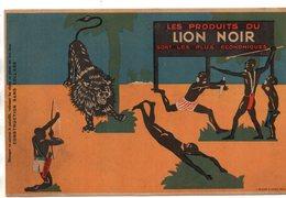 Lion Noir. Myotox. Carton Publicitaire,découpage. - Advertising