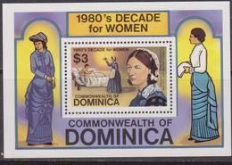 Dominica 1982 Women Costumes Set MNH - Costumi