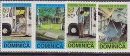 Dominica 1982 Medicine Health Disabled Set MNH - Handicap