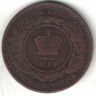 New Brunswick 1 Cent – 1864 - Canada