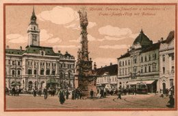 (109)  CPA  Ujvidek   (bon état) - Serbia