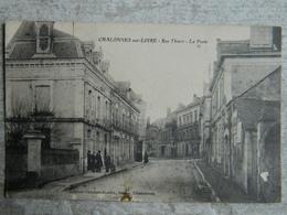 CHALONNES SUR LOIRE        RUE THIERS   LA POSTE - Chalonnes Sur Loire