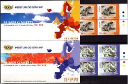 Islandia Carnet 825/826 ** Europa. Leyendas. 1997 - Cuadernillos/libretas
