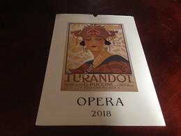 Scala Di Milano Calendario 2018 Turandot Giulietta E Romeo Cabiria Carmen Nuovo - Calendari