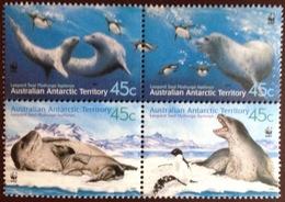 Australian Antarctic Territory AAT 2001 WWF Leopard Seals Animals MNH - Unclassified