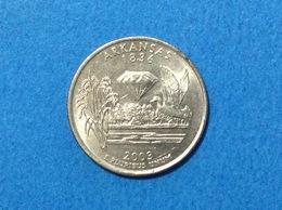 UNITED STATES OF AMERICA USA QUARTER DOLLAR 2003 P ARKANSAS - Emissioni Federali
